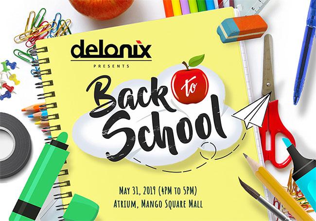 Delonix Back to School Party